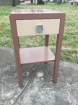 Norman Bel Geddes Simmons Art Deco Night Stand End Table