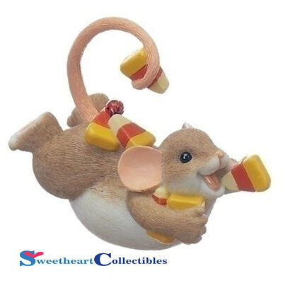 Charming Tails 130455 Halloween Mouse on Belly Candy 2017