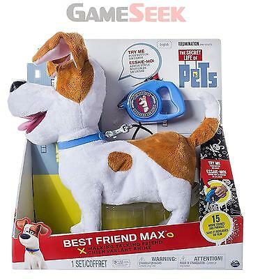 Secret Life Of Pets Best Friend Max Electronic Toy (6034130) - Toys Brand New