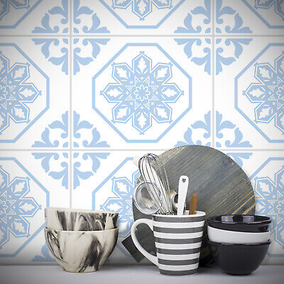 Traditional Tile Stickers Transfers 250mm x 200mm Kitchen Bathroom Furniture DIY