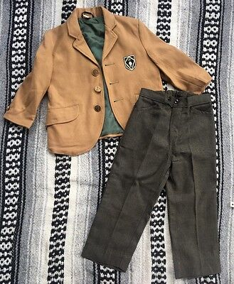 Vintage Boys Suit Size 2-3