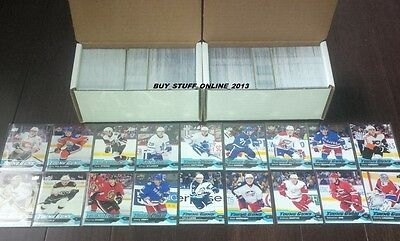 2016 17 UPPER DECK COMPLETE SET OF 500 CARDS w/ ALL 100 YOUNG GUNS MINT