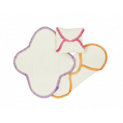 ImseVimse Washable Cloth Menstrual Pads - Pack of 3