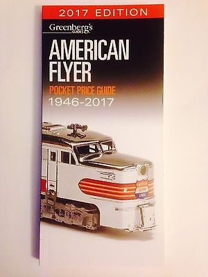 Greenberg's American Flyer Pocket Price Guide 1946-2017 Free Shipping