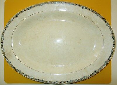 KNOWLES TAYLOR & KNOWLES - China - KT&K - large OVAL PLATTER