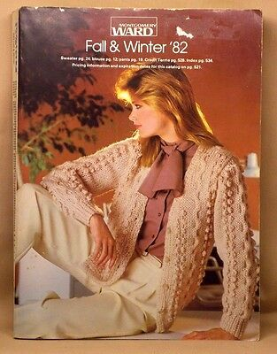 Vintage MONTGOMERY WARDS Fall & Winter 1982 Catalog 1156 Pages