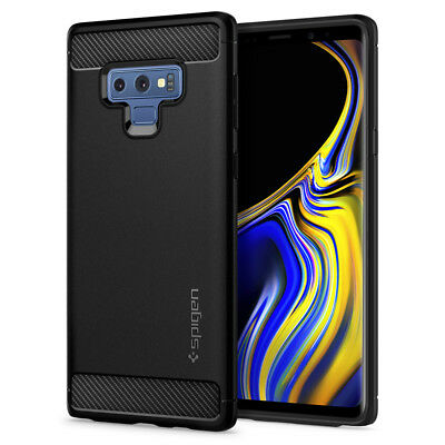 Galaxy Note9/S9/S9 Plus/S8/S8 Plus Case Spigen® [Rugged Armor] Shockproof Cover
