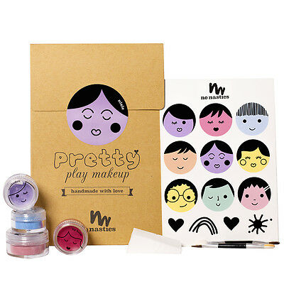 Nixie Goody Pack Purple All Natural Play Makeup by No Nasties Makeup for Kids