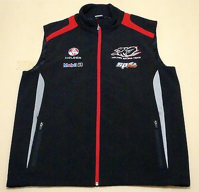 Holden Racing Team Vest Mens ~ Size Extra Large ~ Team Issued Hrt W/ Reflectors