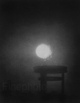 1936 Vintage Germany OLYMPICS Surreal Fire Sun Zen Photo Art By LENI RIEFENSTAHL