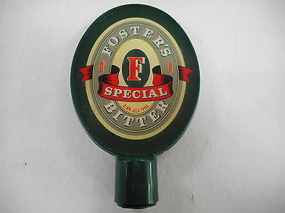 Fosters Special Bitter Beer Advertising Tap Top