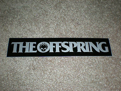 The Offspring Sticker Greatest Hits Warped Tour 2005 Silver / Black Promo New