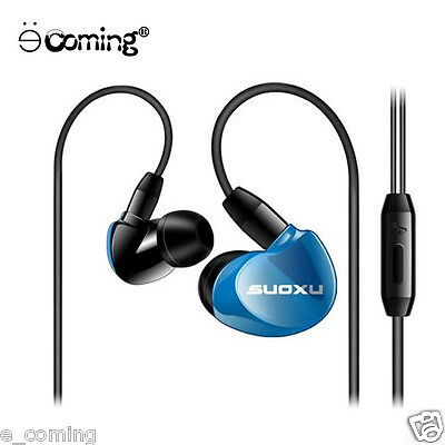 Super Bass Stereo 3.5mm In-Ear Earphone Fashion Sport Headset Headphone with Mic