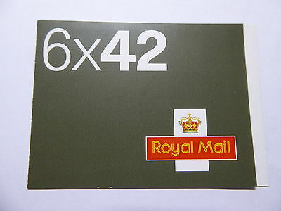 Walsall 2002 GB BOOKLET 6 x 42p Booklet