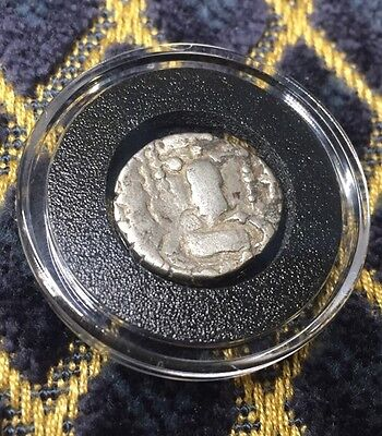Ancient Greek Roman Italy Silver Drachm Coin 100 AD - 10 BC  - Christ  Currency