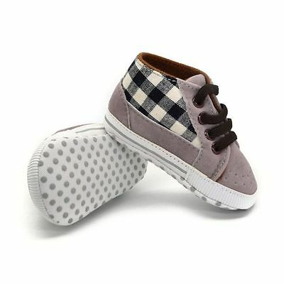 Soft Sole Crib Shoes Toddler Newborn Baby Boy Girl Shoes Sneakers 0-18 Months
