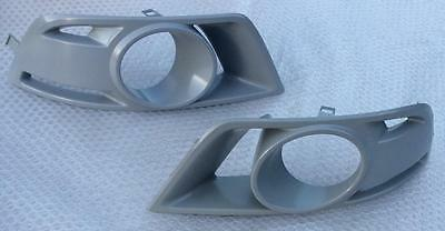 Ford Falcon FPV BF F6 Typhoon Tornado RH+LH pair fog lamp BEZELS SURROUNDS cover