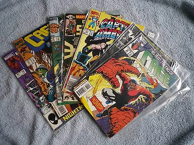 Lot of Miscellaneous Marvel Comic Books - 7; The Thing Cage Doctor Strange