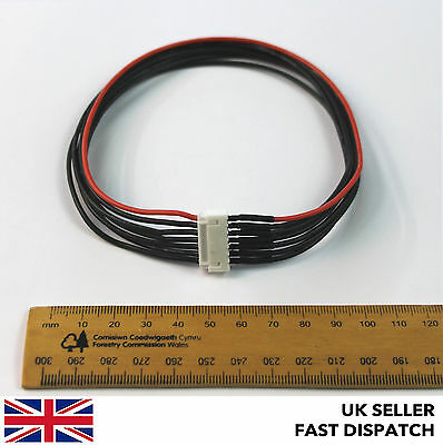 6S JST-XH Balance Charge Extension Cable Lead Plug 330mm Lipo RC 6 Cell 22.2v