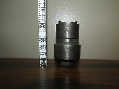 "Greenlee Conduit Punch 1 1/4"" Great shape Sharp!!"