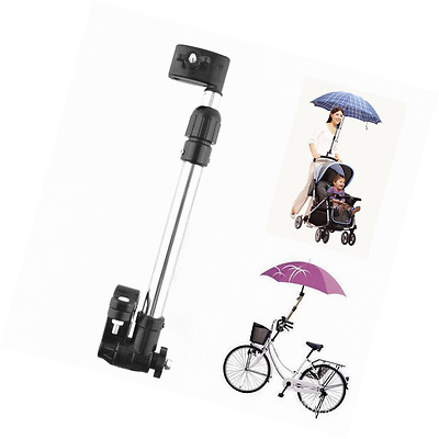 New Useful Baby Pram Bicycle Stroller Chair Umbrella Bar Holder Mount Stand Hand