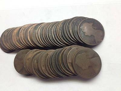 Bulk Victorian Pennies Choose The Amount 1860 To 1901