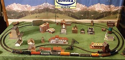 Tyco Mammoth of the Rails Lighted Steam Freight Railroad Train Track Set