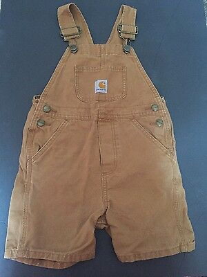 Carhartt Boys Overalls Size 4T