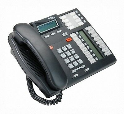 Nortel Networks T7316E Charcoal Business Office Display Phone
