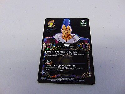 YU YU HAKUSHO TRADING CARD GAME CHU DRUNKEN MASTER CARD   gm464