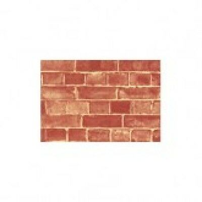 "DOLLS HOUSE WEATHERED BRICK EXTERIOR WALLPAPER 20 x 30"" (510 x 760 mm) MODELLING"