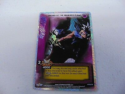 YU YU HAKUSHO TCG CCG KING SWORD OF THE DARKNESS FLAME CARD   gm480