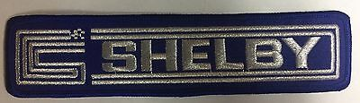Mustang Shelby Blue Patch!!! Free Shipping!!