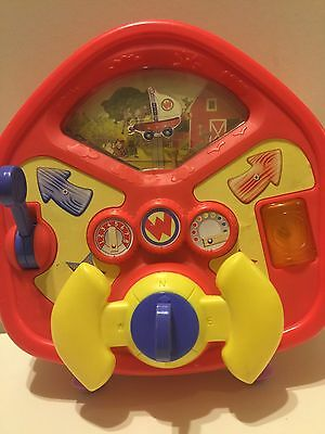 The Wonder Pets Flyboat Steering Wheel Driver with Sounds! Rare