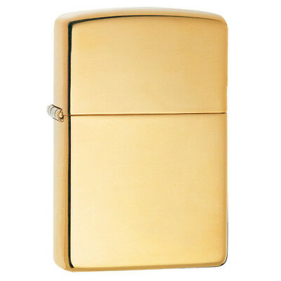 Zippo 169 Genuine Refillable Windproof Lighter - Armor High Polish Brass