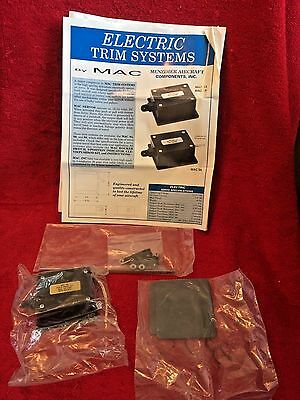Mac Electric Trim System S4/s6 Servo With Clevis/pushrod Kit And Instructions
