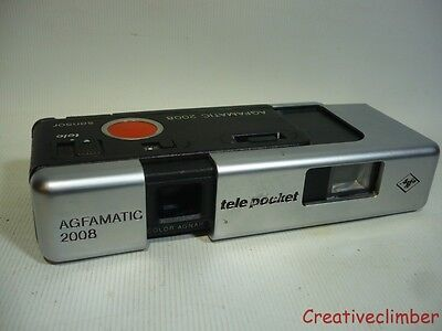 1970s Agfamatic 2008 Tele Pocket Sensor - Sub Mini 110 Film Camera - Lomo