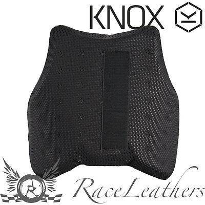 Knox Motorcycle Motorbike Protective Chest Insert Armour For Shirts Gilets
