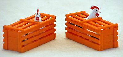 Bachmann G Scale Big Haulers Scenery Item - Two Chicken Crates 1:22.5