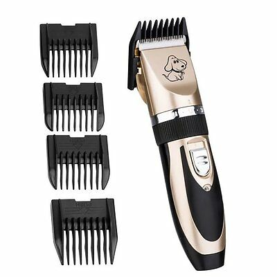 NEW Professional Pet Clipper Grooming Kit - Animal Dog and Cat Trimming Set