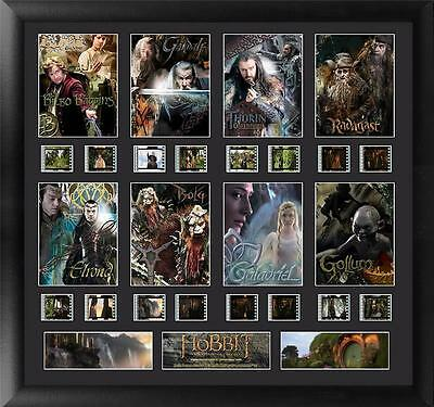 The Hobbit An Unexpected Journey Large Character Film Cell Montage