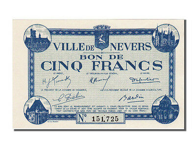 [#23265] Nevers, 5 Francs, 1940