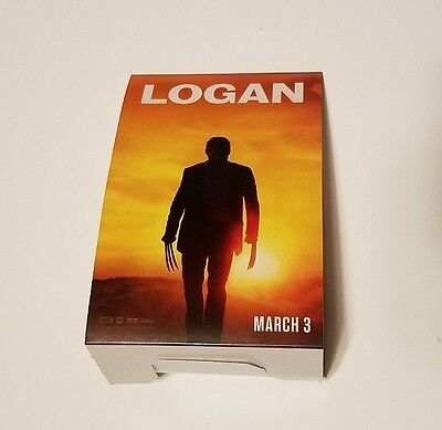 Rare Logan Movie Promo Counter Display Sign - Wolverine Hugh Jackman Poster Tag