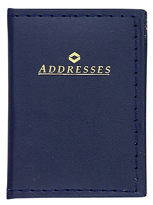 "MeadWestvaco 2-3/8"" X 3-1/4"" Address Book Assorted Colors"