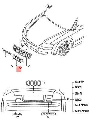 audi s4 black wiring diagram database Audi A7 genuine black radiator grille audi rs4 quattro 8e 8e0853651afvmz audi s4 white audi s4 black
