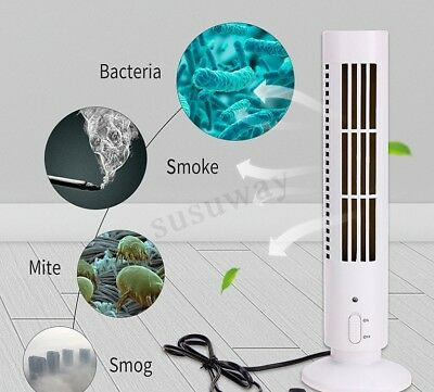 Ionic Air Purifier White Cleaner Black Smoke Ionizer Negative Fresh Office Home