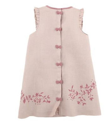 TARTINE ET CHOCOLAT - Robe + Noeud dos - 6 mois - Rose - Neuf + étiquettes - 85€