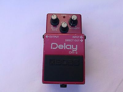 Vintage Boss Dm3 Analog Delay Mij Japan  - Free Next Delivery Day In The Uk