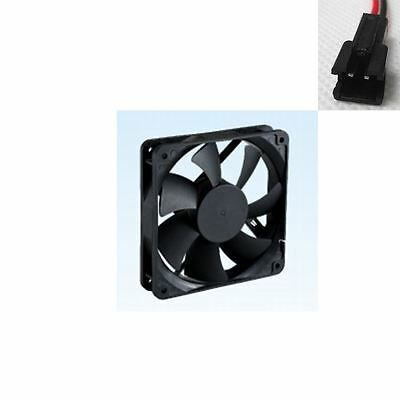 92x25mm DC 12V 0.16A Sleeve Bearing Brushless Cooling Fan 2 Pin Female