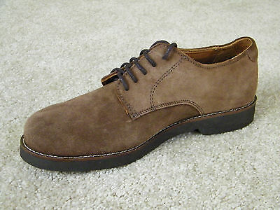 L.L. Bean Genuine Suede and Leather Lace Oxfords Shoes, Men's Size 8